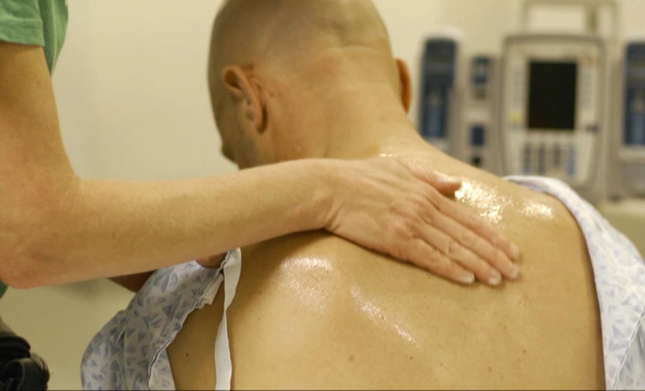 Cancer recovery massage